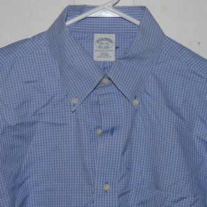 Brooks brothers dress shirt size 16 1/2 J896